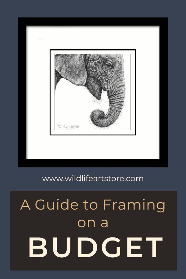 A guide to framing on a budget for Pinterest