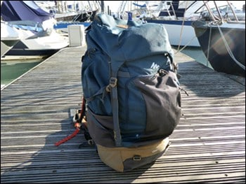 Rucksack front view