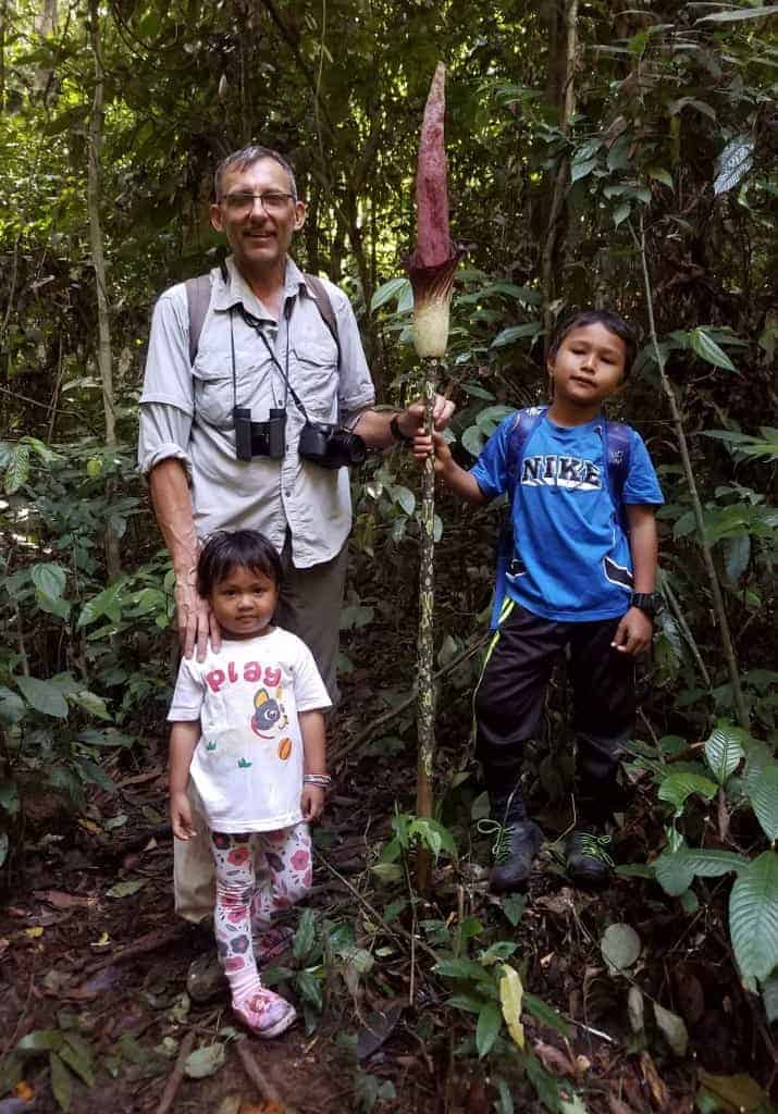 My young guides in Ketambe on a day walk aroung Gurah forest.