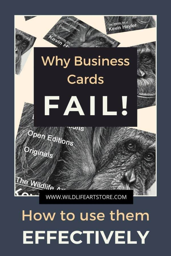 why business cards fail for pinterest