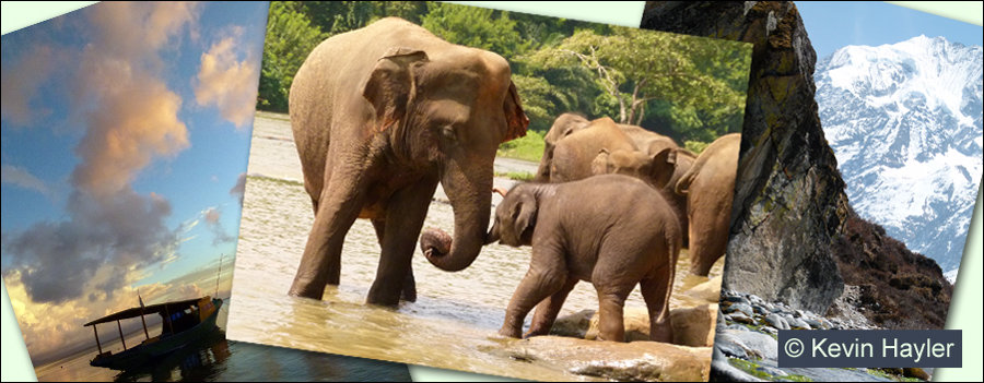 Sunset in Indonesia, elephants in Srei Lanka and the Himalayas. How can I afford to travel
