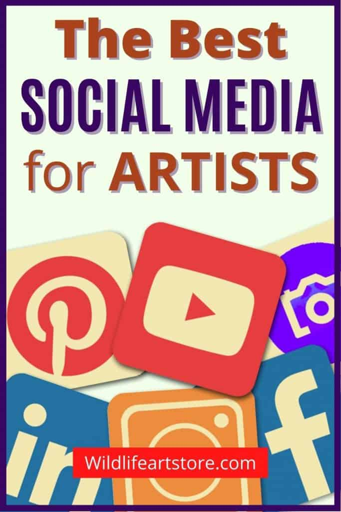 The best social media for artists 6 icons